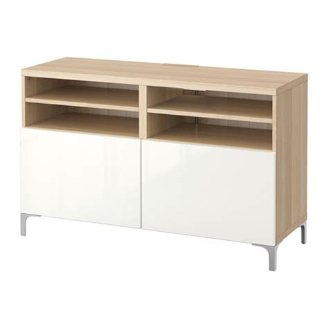 bestå tv bench best 197 tv bench with doors white stained oak effect