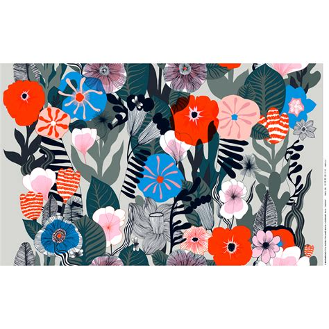 marimekko stoffe marimekko kasvu multicolor fabric marimekko cotton fabrics