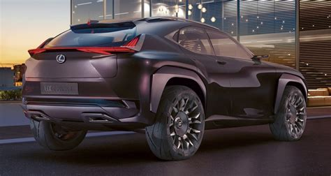 lexus ux concept previewing a new compact suv image 557056