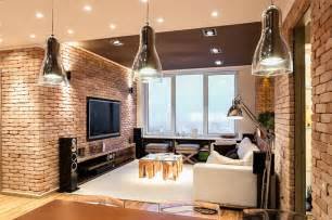 Stylish Home Interior Design Stylish Laconic And Functional New York Loft Style