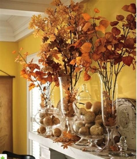 autumn decorations for the home 39 beautiful fall mantel d 233 cor ideas digsdigs