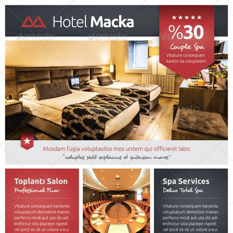 template flyer hotel 25 best hotel flyer templates