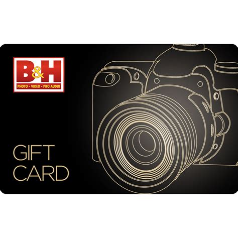 Photography Gift Card - b h photo video 10 gift card b h photo video