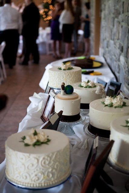 Cake And Buffet Table Cake Buffet Probably Better Than A Tiered Cake Since Its