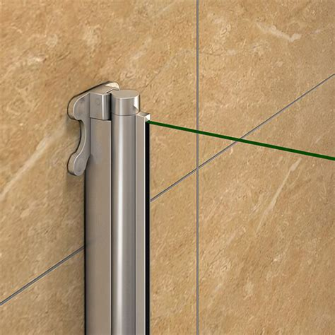Folding Shower Door Seal Aica Pivot Folding Hinge Bath Screen Shower Door Panel 1400mm Glass Seal Ebay