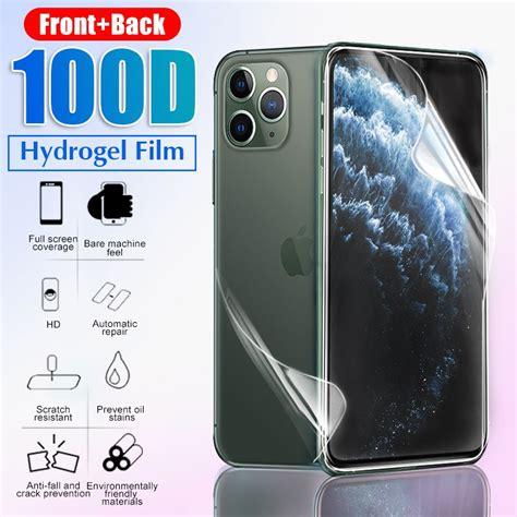 hydrogel film pelindung layar depan belakang full cover