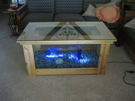 building a coffee table from scratch 1000 ideas about coffee table aquarium on