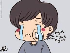 gambar sakit gigi animas lucu ompong tonggos untuk dp bbm dan komentar sakit gigi