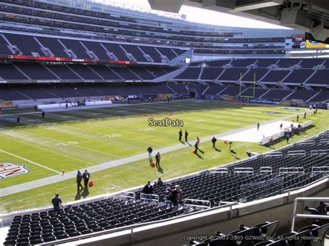 Soldier Field Media Deck by Soldier Field Section 244 Chicago Bears Rateyourseats