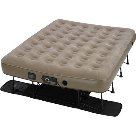 insta bed ez air bed with neverflat ac walmart