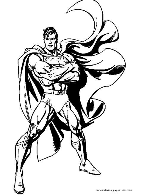 Superman S Coloring Pages by Superman Color Page Characters Coloring Pages
