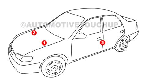 subaru paint code locations touch up paint automotivetouchup