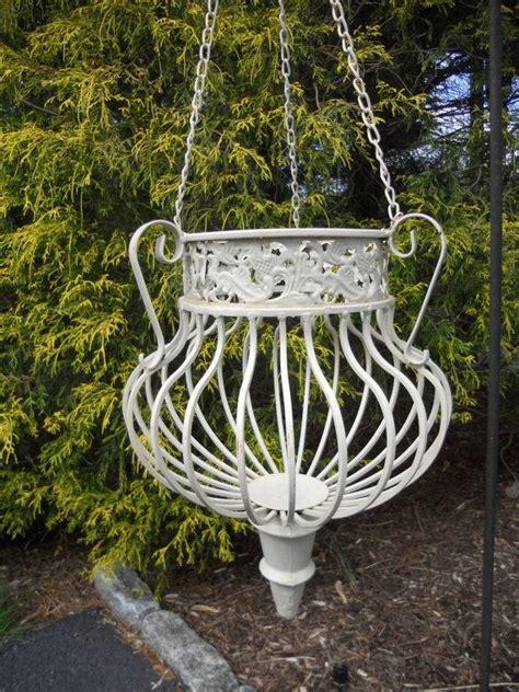 Wrought Iron Outdoor Planters by Planter Wrought Iron Garden Decor