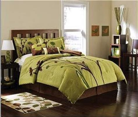 green and brown comforter sets king green brown nature flower comforter set warm grey