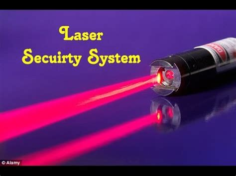 laser security system with circuit diagram diy