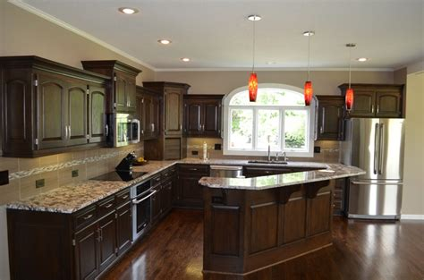 remodeled kitchen cabinets kitchen remodeling kitchen design kansas city