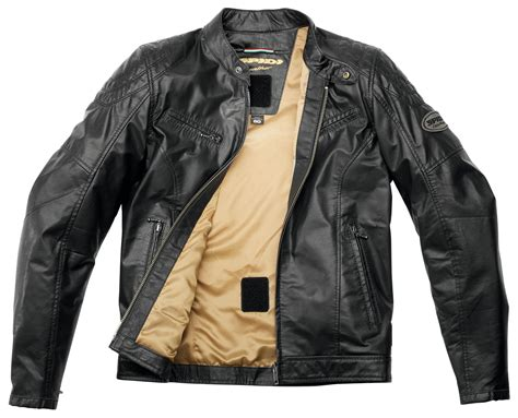 leather jacket spidi ring leather jacket revzilla