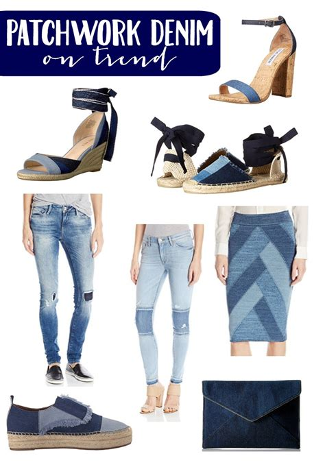 Patchwork Denim Trend - loving this fashion trend patchwork denim bradford