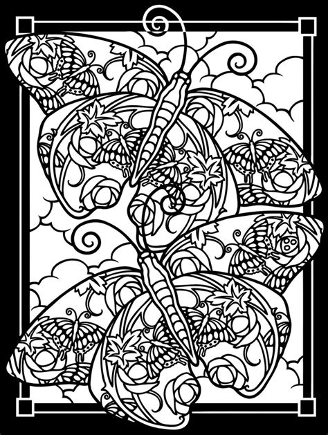 hard christmas coloring pages wallpapers9 two butterflies black background butterflies insects