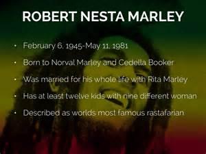 bob marley biography ppt bob marley by eikka flander