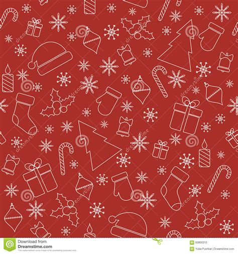 christmas pattern lines christmas seamless pattern with line christmas stock