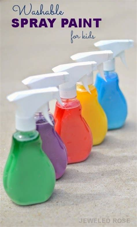 spray paint for toddlers washable spray paint for what a way for to