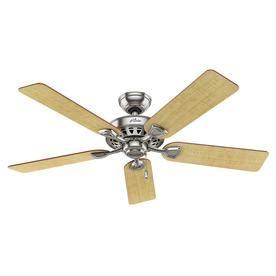 westminster 5 minute fan 52 in shop westminster 5 minute fan 52 in brushed nickel