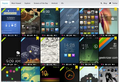 best android home screen browse best android iphone homescreen theme customizations