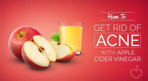 Detox To Get Rid Of Acne by How To Get Rid Of Acne With Apple Cider Vinegar