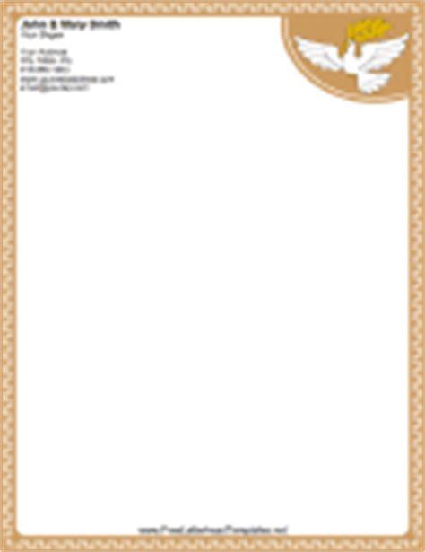 christian letterhead templates free religious letterhead
