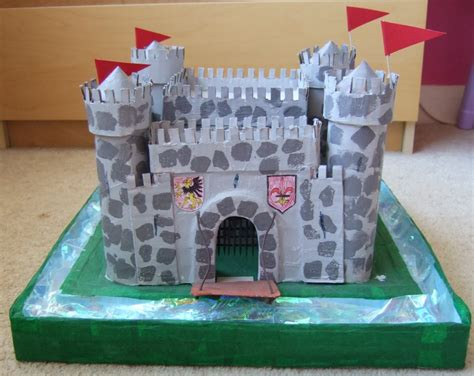 How To Make A Paper Castle - how to build a cardboard castle images frompo 1