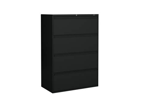 Black 4 Drawer Lateral Filing Cabinet Dillon Amber Dane 4 Drawer Lateral Filing Cabinet