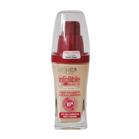 L Oreal l oreal infallible makeup foundation sm