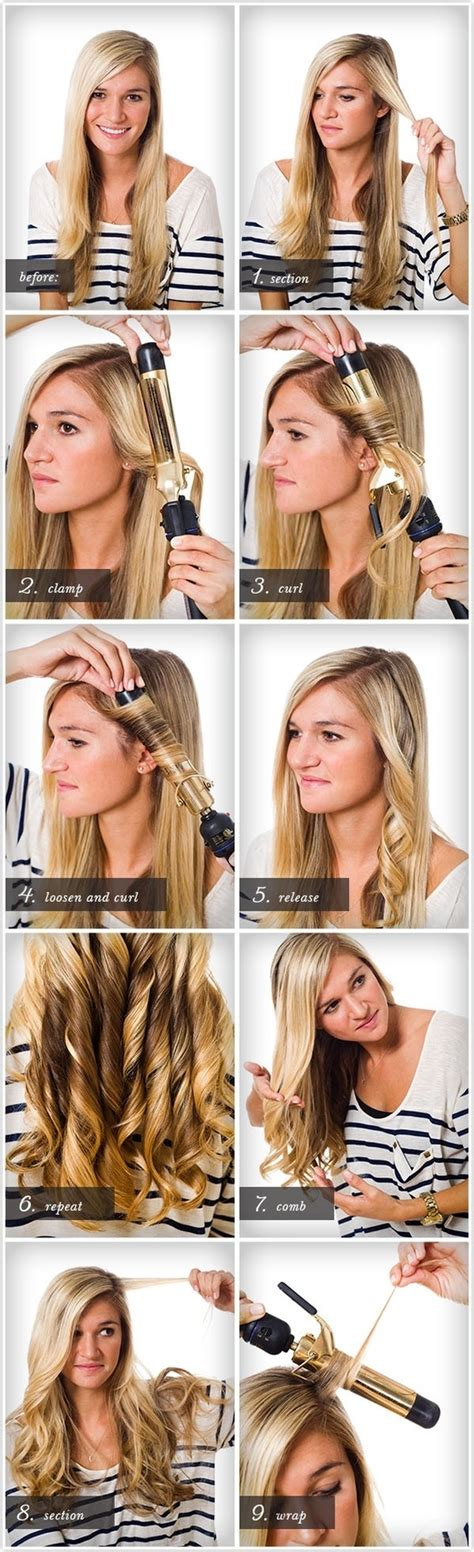 curling hair tutorial for med hair diy hair curls pictures photos and images for facebook