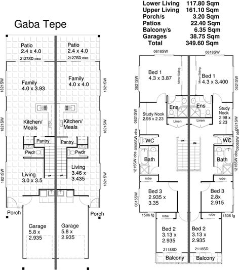 Small Duplex Floor Plans by Small Two Bedroom House Plans Small Duplex House Plans