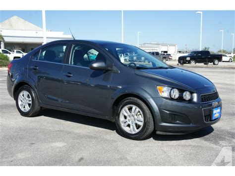 Auto Lt by 2013 Chevrolet Sonic Lt Auto Tx For Sale In