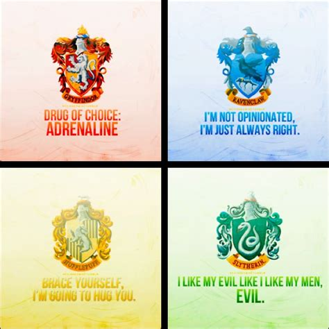 What Hogwarts House Am I In by Gryffindor Of Choice Adrenaline Ravenclaw I M Not