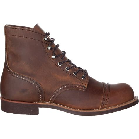 mens boots 100 wing heritage 6inch iron ranger boot mens 100