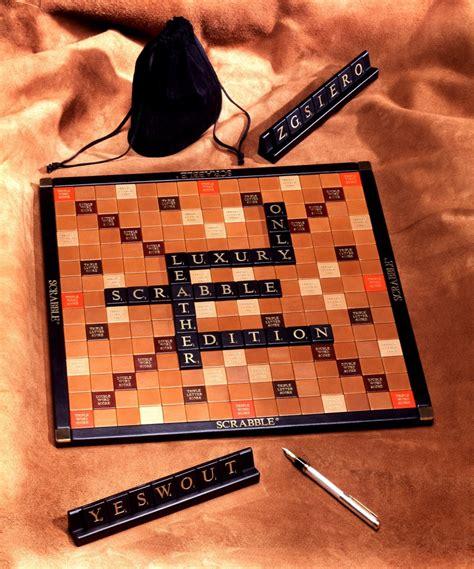 scrabble un luxe et cuir pour un scrabble sur mesure la d 233 co de