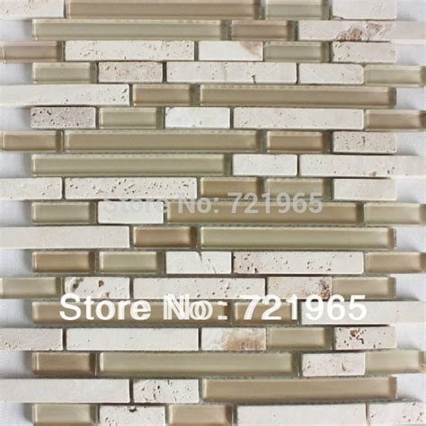 mosaic travertine tile backsplash glass mosaic kitchen backsplash tiles sgmt152 glass