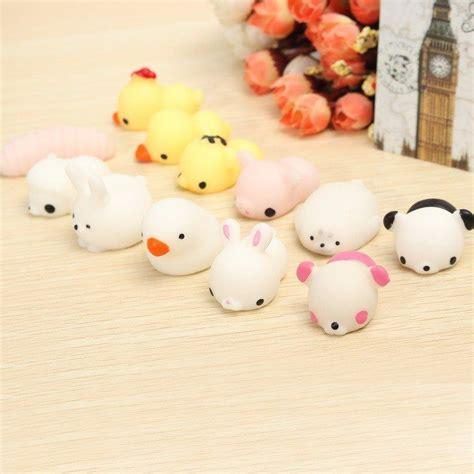 Lovely Pink Cat Squishy mochi bunny rabbit squishy squeeze healing kawaii