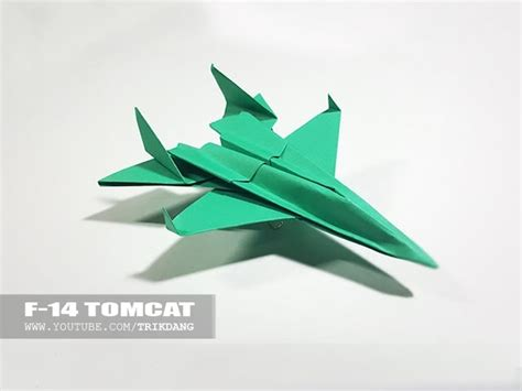 Origami Plane - best origami paper jet how to make a paper airplane model