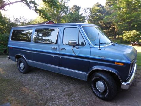 how to work on cars 1986 ford e series auto manual 1986 ford e series van e150 club wagon xlt excellent shape