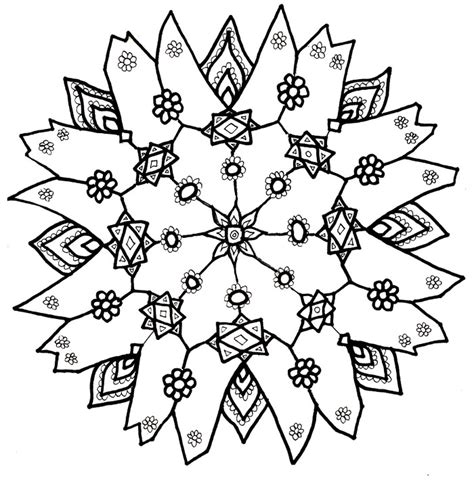 free printable snowflakes to color snowflakes coloring pages printable az coloring pages