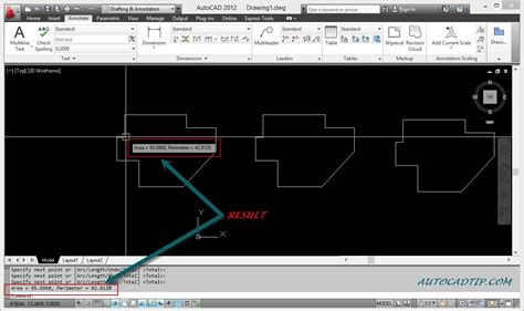 calculate area how to calculate an area in autocad