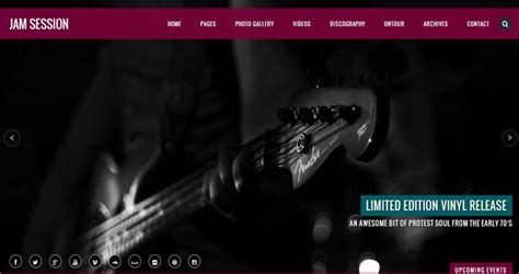 themes wordpress music 29 best wordpress music themes for bands musicians