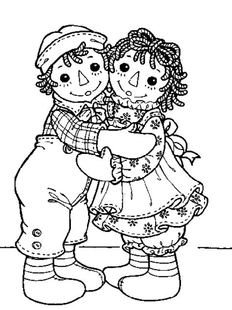 coloring book pages raggedy raggedy and andy coloring pages coloringpagesabc