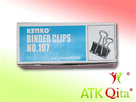 kenko binder klip no 107 binder clip 107 joyko