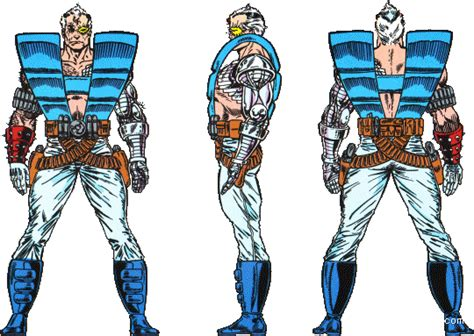 Cable Micro Karakter blueprints gt humans gt comic book characters gt cable
