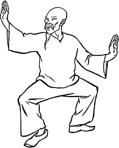 s colouring pages kung fu kung fu coloring page supercoloring